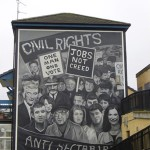 Political mural in Derry