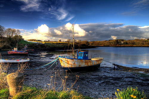 Baltimore West Cork, a fishing village in the scenic West Cork region of Ireland