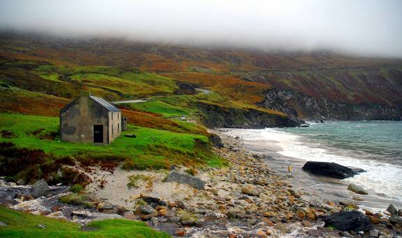 Keem Bay, Achill Island: the breathtaking beauty on this five star beach has inspired artists like Paul Henry and Graham Greene to the area.