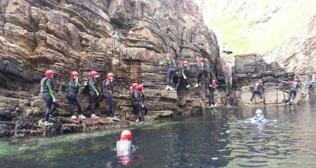 US sportswear firm Columbia brought the world's leading journalists to sample the Wild Atlantic Way in Ireland