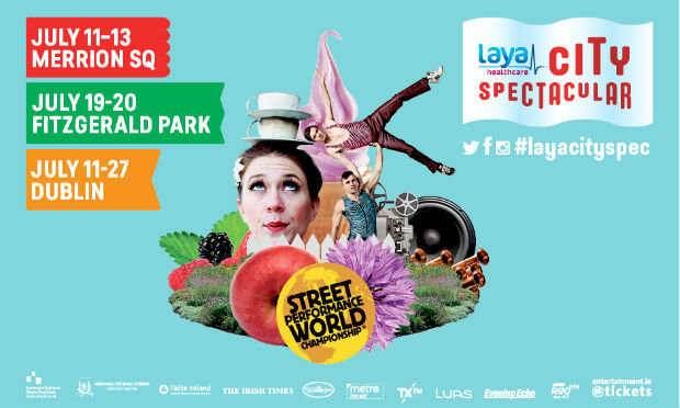 Laya Healthcare's City Spectacular