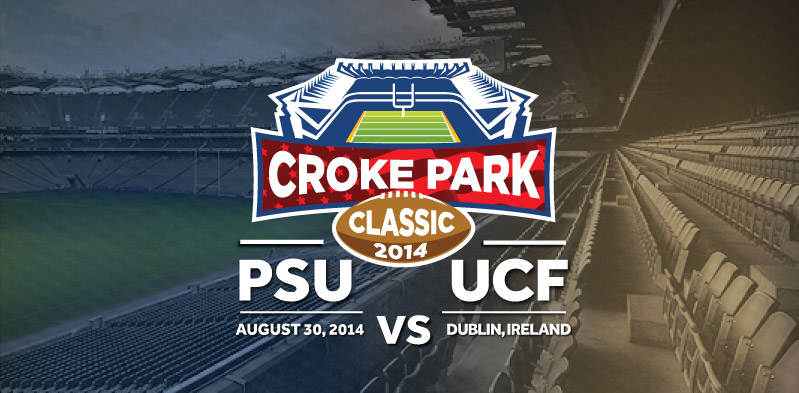 The Croke Park Classic encounter: UCF Knights V Penn State ...
