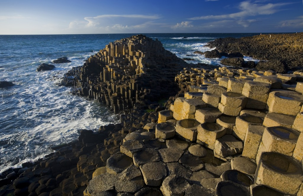 The Giants Causeway in County Antrim