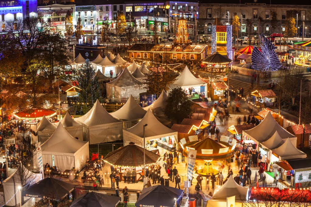 The Galway Continental Christmas Market is taking place until the 22nd December in Eyre Square, in the heart of the city centre