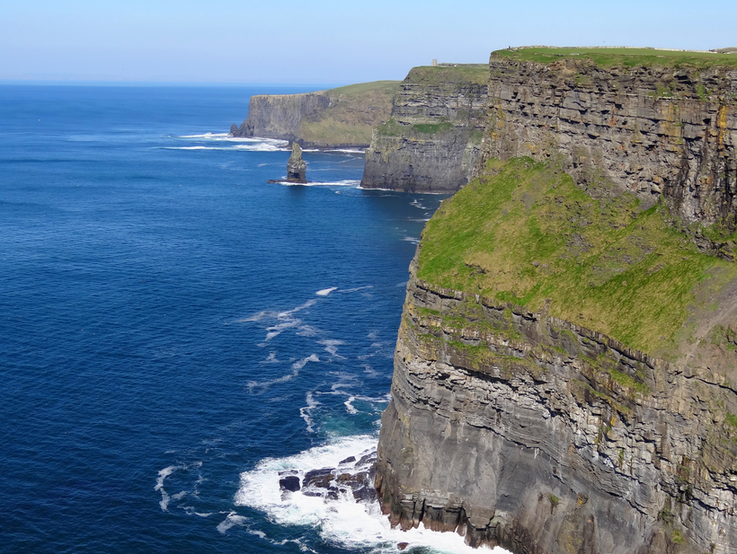 Cliffs of Moher, along the Wild Atlantic  is just one of the attractions which is set to feature on US TV series Facing Waves