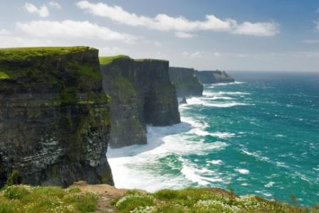 The Cliffs of Moher, one of the many attractions visited in the Emerald Isle in 2014 by the estimated 1.2 million visitors from the United States.