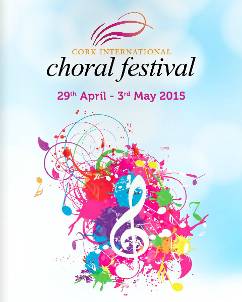 The Cork International Choral Festival takes place from Wednesday the 29th April until the 3rd May