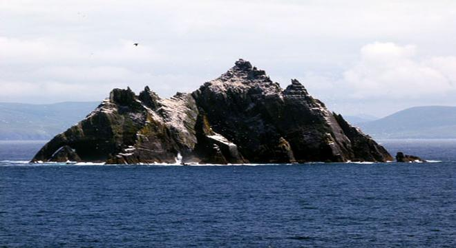 Skellig Michael in County Kerry, featured in Star Wars Episode VII