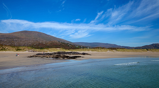 Derrynane Beach in County Kerry
