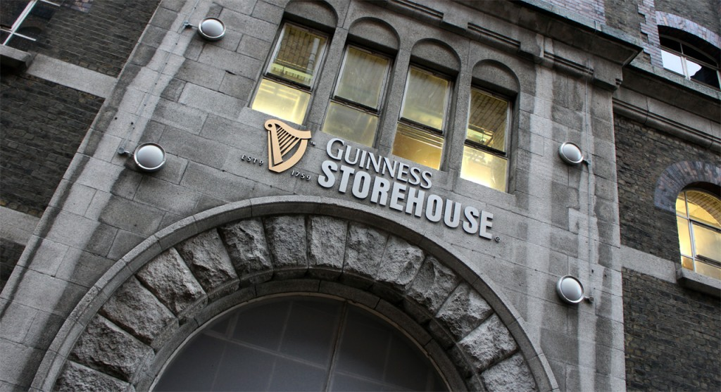 The Guinness Storehouse tells visitors the story of the drinks company and has had an estimated 13 million people through its doors since it opened in 2006.