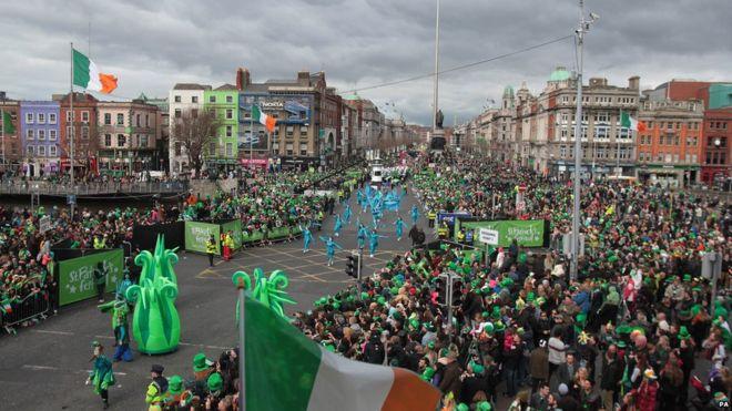 2018 St Patrick's Festival in Dublin
