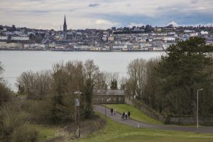 View from Spike Island to Cobh