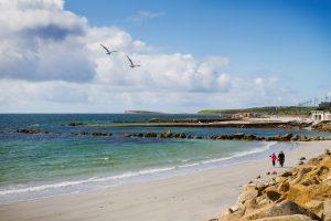 West Coast of Ireland, Galway, Salthill, Atlantic Ocean