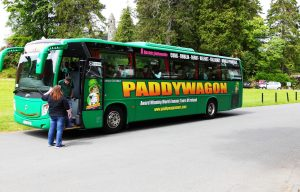Paddywagon group vacation tour bus