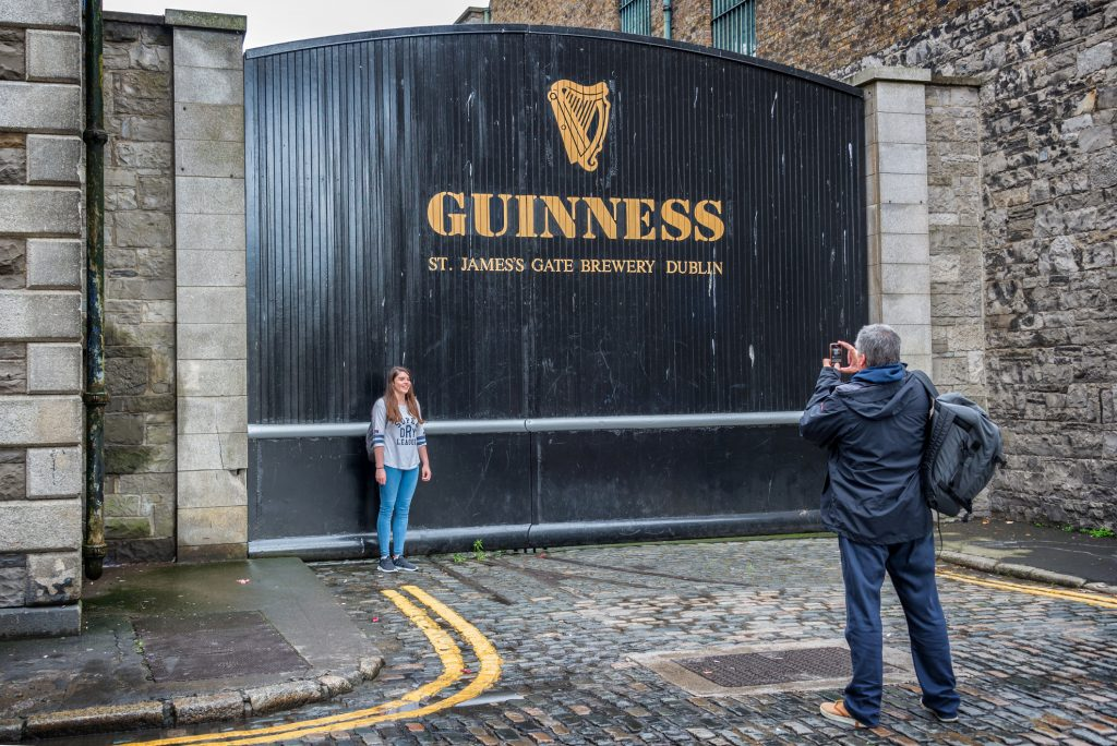 Guinness Storehouse in Dublin