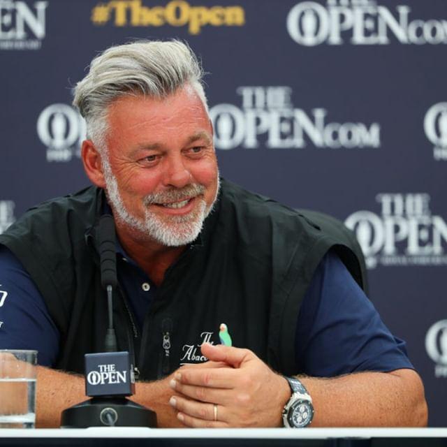 Darren Clarke at The Open