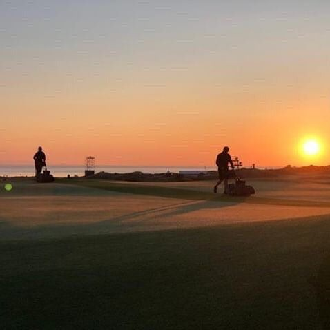 Sunset at Royal Portrush